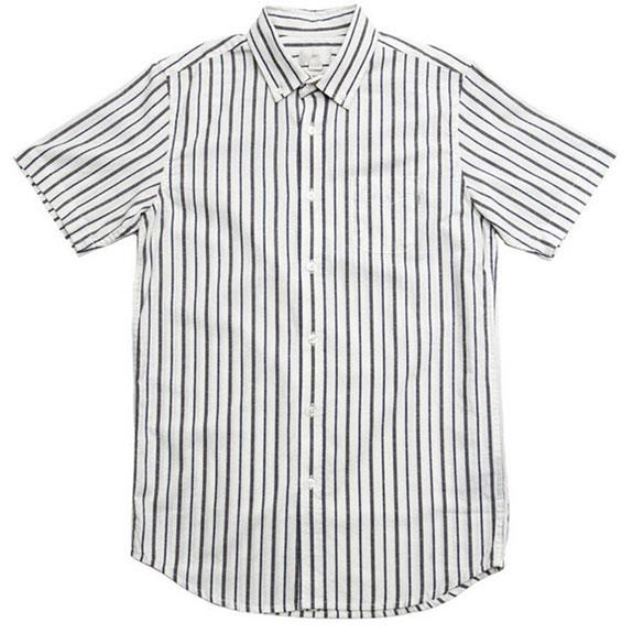 Obey Hayes Mens Button Up Short Sleeve Woven Shirts