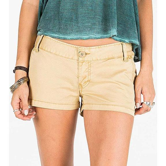 ELEMENT STEMSI IN WOMENS CLOTHING FABRIC SHORTS - WOMENS FABRIC SHORTS - SHORTS