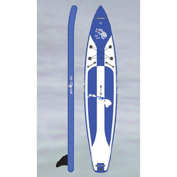 "BLUE PLANET 12' 6"" TOURING AIR IN STAND UP PADDLE BOARDS SUP BOARDS - SUP BOARDS"