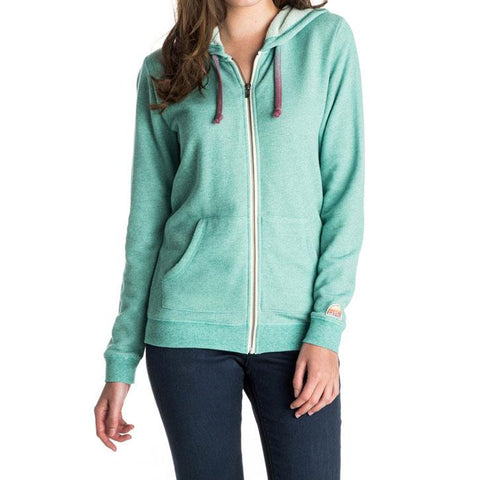 ROXY SIGNATURE IN WOMENS CLOTHING HOODIES - WOMENS ZIP UP HOODIES - SWEATSHIRTS