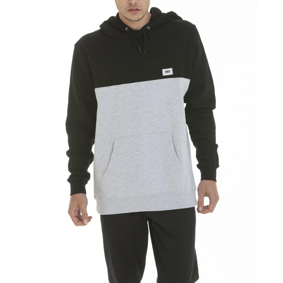 OBEY WEST PULLOVER HOOD IN MENS CLOTHING HOODIES - MENS PULLOVER HOODIES - MENS SWEATSHIRTS