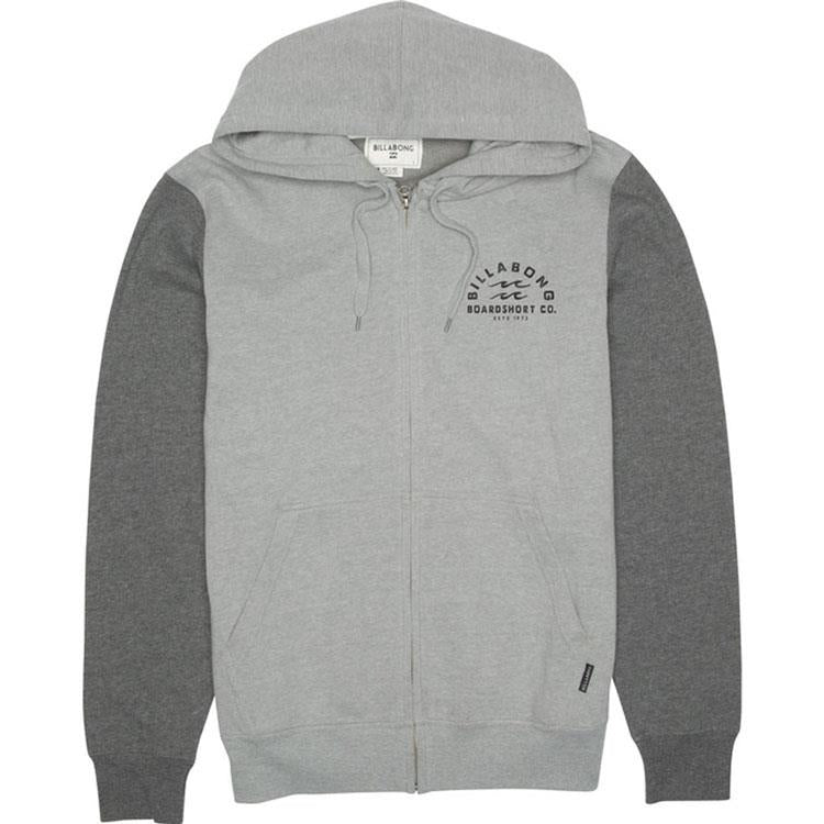 BILLABONG ARCHER ZIP IN MENS CLOTHING HOODIES - MENS FULL ZIP HOODIES - MENS SWEATSHIRT