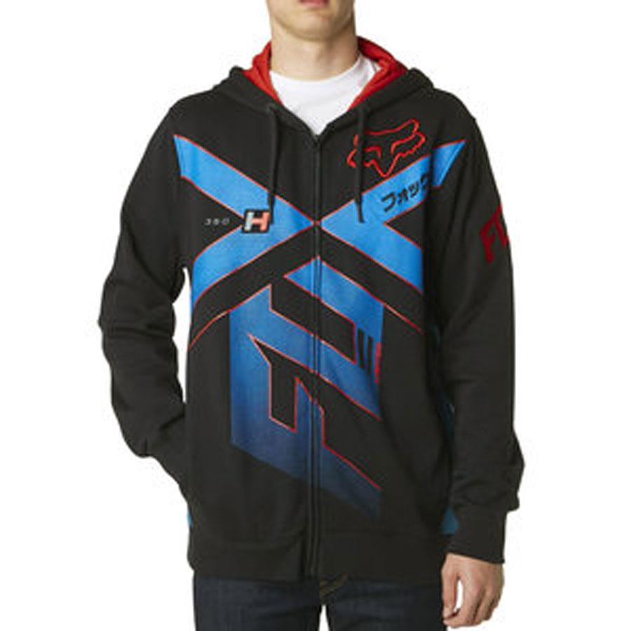 Fox Division Mens Zip Up Fleece Jackets