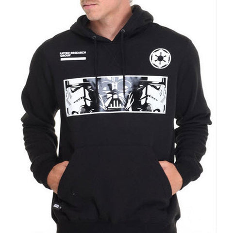 LRG Star Wars The Empire Mens Pullover Hoodies