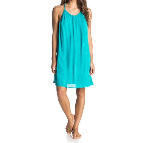Roxy Passing Sky Solid Womens Sun Dresses