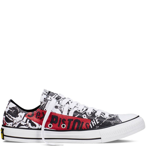 Converse Chuck Taylor All Star Sex Pistols Mens Skate Shoes