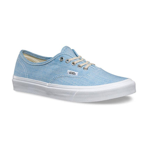 Vans Authentic Slim Chambray Womens Skate Shoes