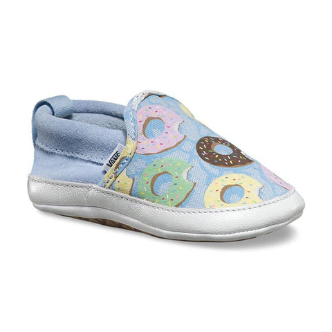 VANS SLIP ON CRIB LATE NIGHT INFANT IN SHOES INFANT BOYS SNEAKERS - INFANT SHOES - KIDS SHOES