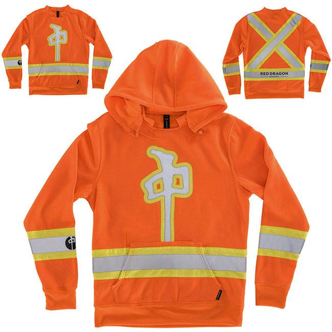 RDS HIGH VIS PULLOVER HOOD IN MENS CLOTHING HOODIES - MENS PULLOVER HOODIES - MENS SWEATSHIRTS