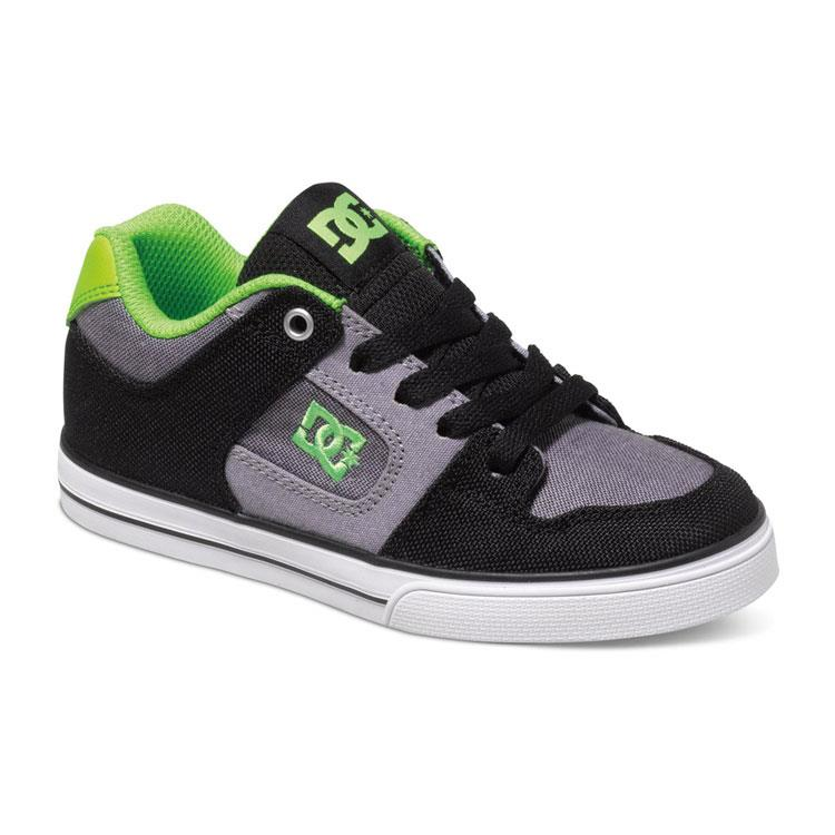 DC PURE TX SE BOYS SHOES IN SHOES YOUTH BOYS SKATE SHOES - KIS SKATE SHOES - KIDS SHOES