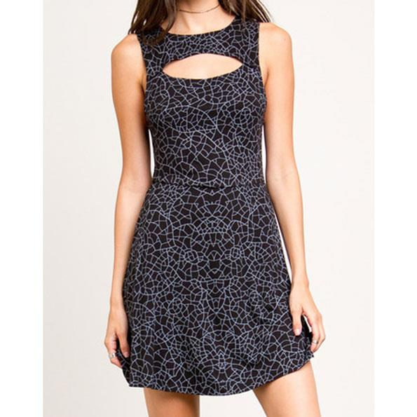 RVCA PEEKER DRESS IN WOMENS CLOTHING DRESSES - CASUAL DRESSES - DRESSES