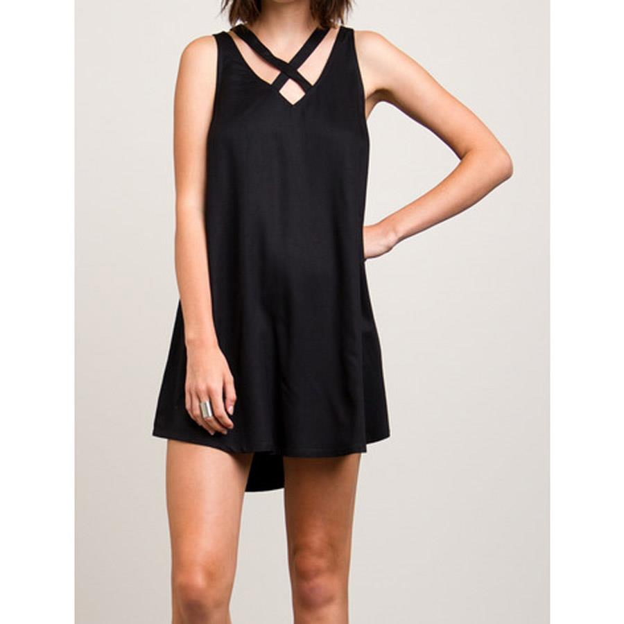 RVCA VISIONS DRESS IN WOMENS CLOTHING DRESSES - CASUAL DRESSES - DRESSES