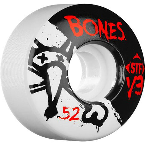 BONES STF V3 103A WHEELS IN SKATEBOARD WHEELS - SKATE WHEELS