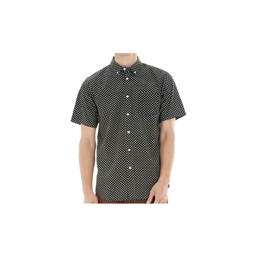 OBEY MEDINA WOVEN SHORT SLEEVE IN MENS CLOTHING WOVEN S/S - MENS BUTTON UP SHORT SLEEVE SHIRTS - SHIRTS