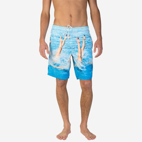 Neff Synchronized Hot Tub Mens Boarshorts