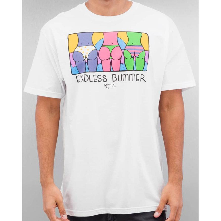 NEFF ENDLESS BUMMER TEE IN MENS CLOTHING S/S T-SHIRTS - MENS T-SHIRTS SHORT SLEEVE - T-SHIRTS