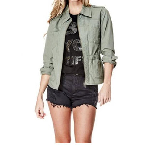 Guess LS Charlie Cargo Womens Jackets