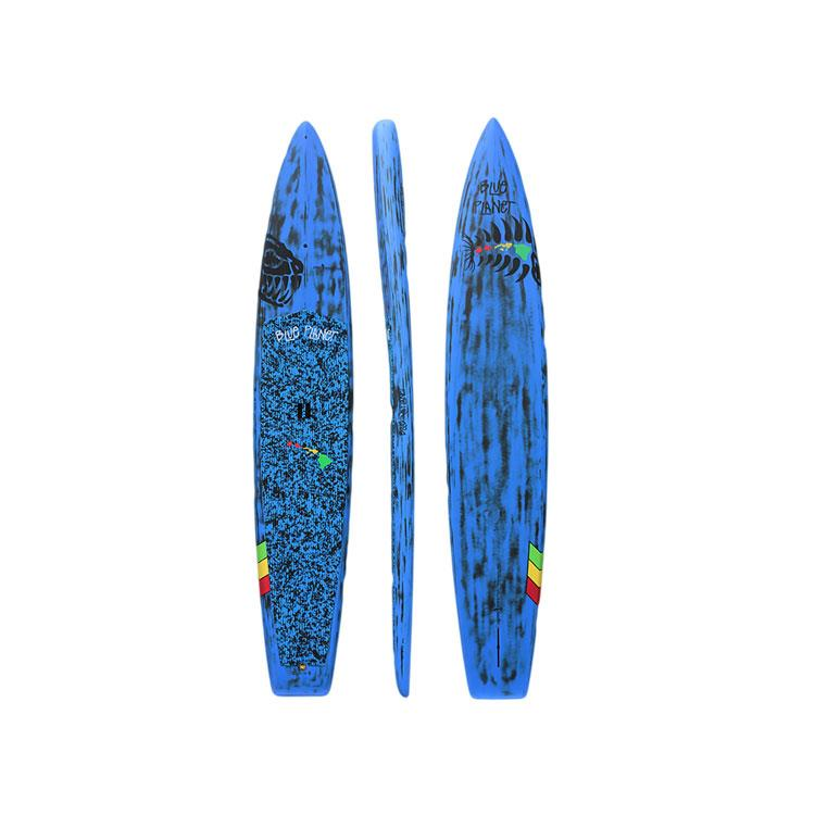"BLUE PLANET 12' 6"" DARK HORSE WIDE BAMBOO IN STAND UP PADDLE SUP BOARDS - SUP BOARDS"