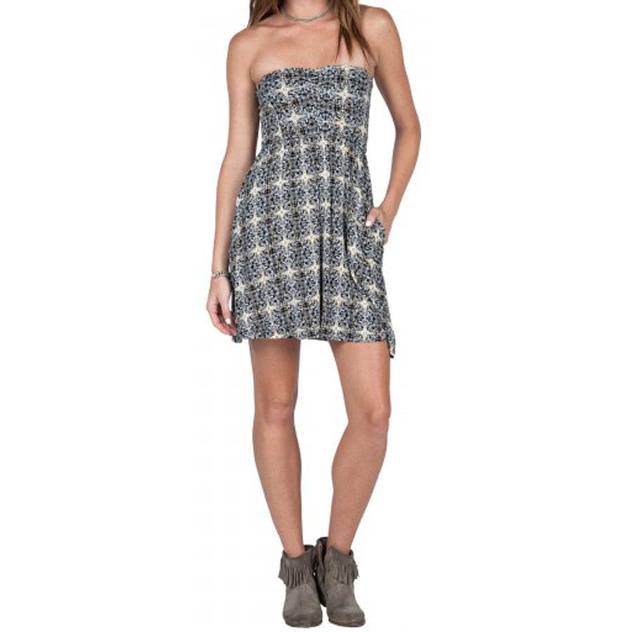 VOLCOM KEEPIN ON DRESS IN WOMENS CLOTHING DRESSES - SUN DRESSES - DRESSES