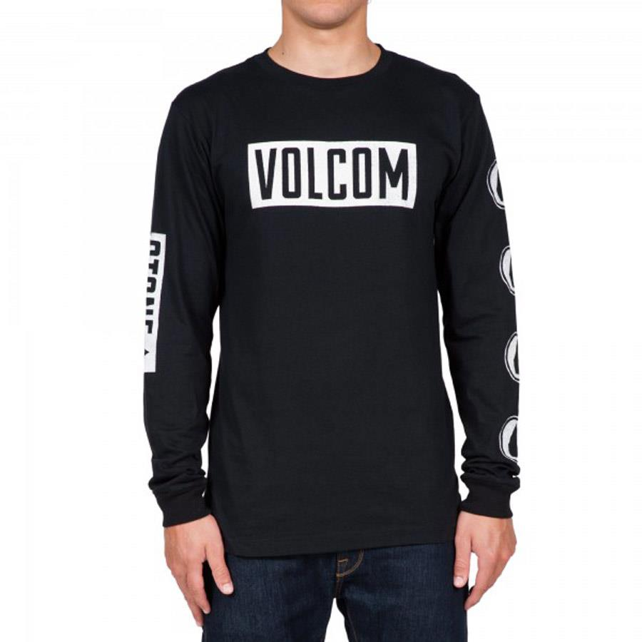VOLCOM KNOCK LONG SLEEVE TEE IN MENS CLOTHING L/S T-SHIRTS - MENS T-SHIRTS LONG SLEEVE - T-SHIRTS