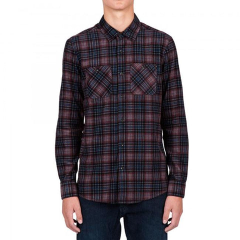 Volcom Kanter Men Button Up LS Shirts