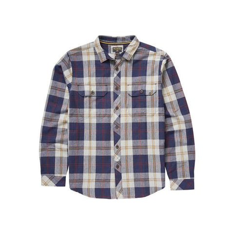 BILLABONG GRAYSON LONG SLEEVE FLANNEL IN MENS L/S WOVEN - MENS BUTTON UP LONG SLEEVE SHIRTS - SHIRTS