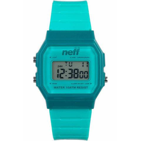 Neff Flava XL Surf Rubber Strap Womens Watches