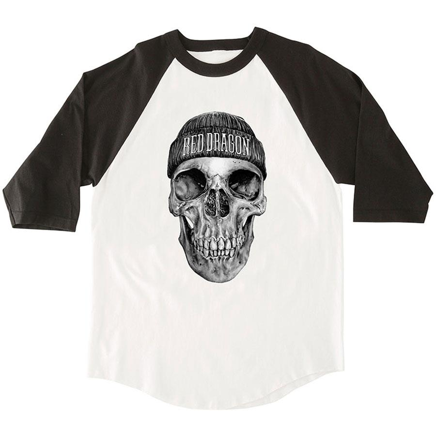RDS DEAD HEAD 3/4 BANGER IN MENS CLOTHING L/S T-SHIRTS - MENS T-SHIRTS LONG SLEEVE - T-SHIRTS