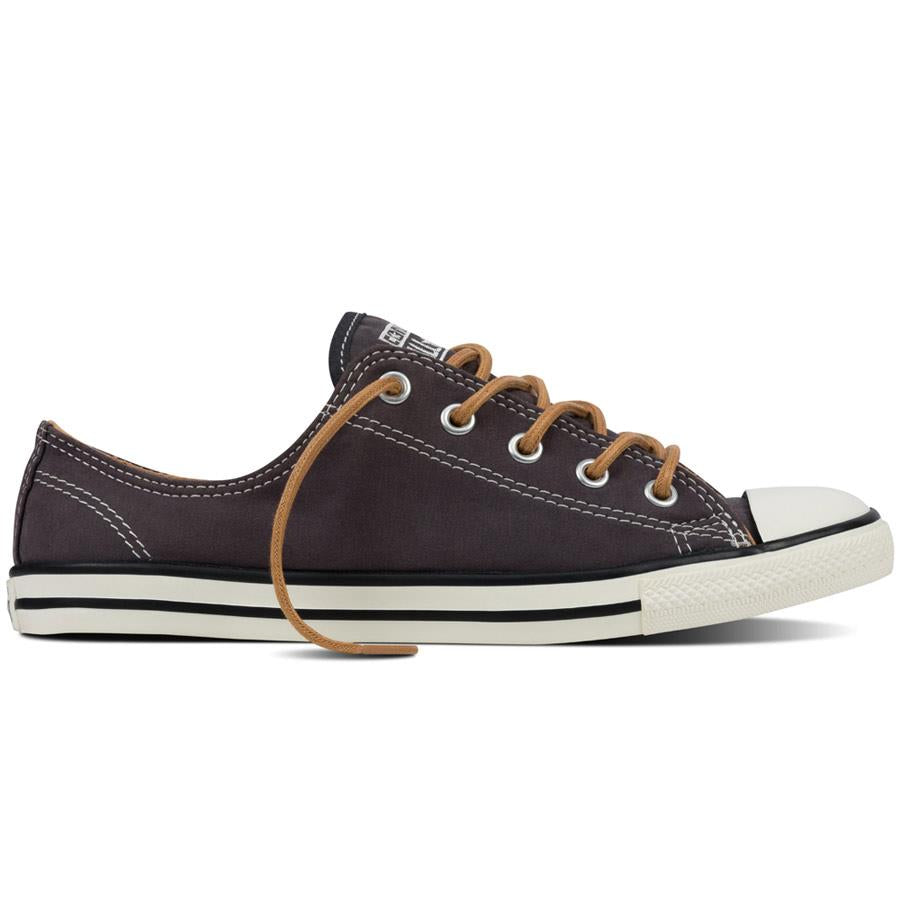 Star Peached Canvas Womens Skate Shoes