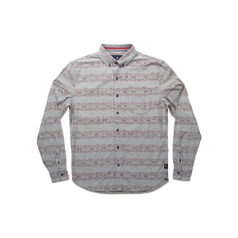 ROARK VAN ISLE WOVEN LONG SLEEVE IN MENS CLOTHING L/S WOVEN - MENS BUTTON UP LONG SLEEVE SHIRTS - SHIRTS