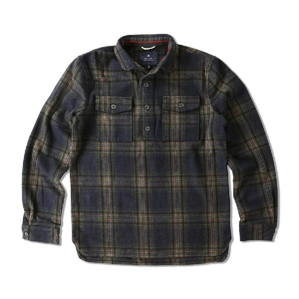 ROARK MAUL LONG SLEEVE WOVEN IN MENS CLOTHING L/S WOVEN - MENS FLANNEL SHIRTS - MENS SHIRTS