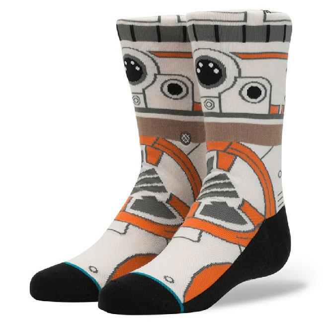 STANCE STAR WARS BB8 KIDS IN BOYS 7+ CLOTHING SOCKS - KIDS SOCKS - SOCKS
