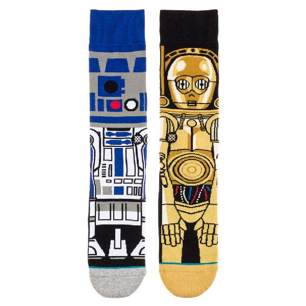 STANCE STAR WARS DROID SOCKS IN MENS CLOTHING SOCKS - MENS SOCKS - SOCKS