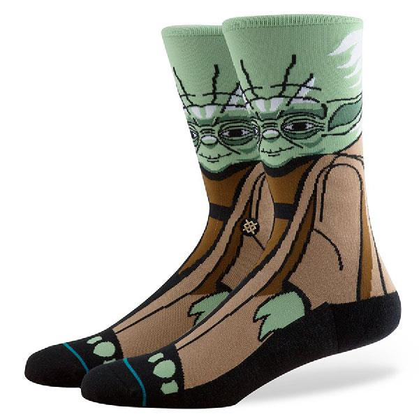 STANCE STAR WARS YODA SOCKS IN MENS CLOTHING SOCKS - MENS SOCKS - SOCKS