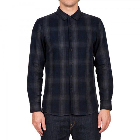 VOLCOM SHUTTLE LONG SLEEVE FLANNEL IN MENS CLOTHING LS WOVEN SHIRTS - MENS BUTTON UP LONG SLEEVE SHIRTS - FLANNEL SHIRTS - SHIRTS