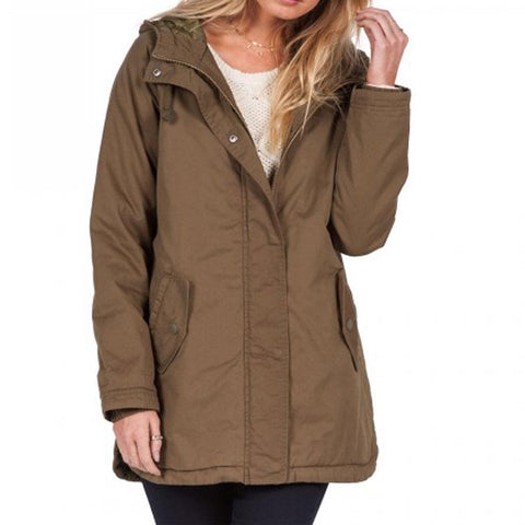 Volcom Good Side Parka Womens Casual Jackets