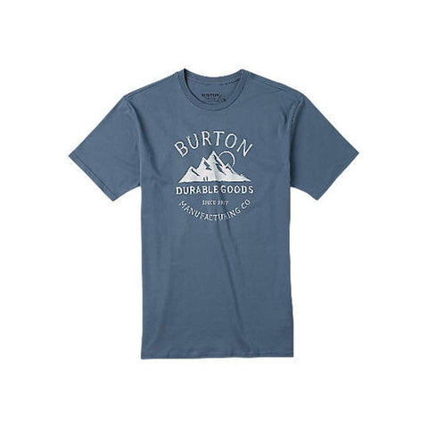 BURTON OVERLOOK SHORT SLEEVE TEE IN MENS CLOTHING S/S T-SHIRTS - MENS T-SHIRTS SHORT SLEEVE - MENS T-SHIRTS SLIM FIT - T-SHIRTS