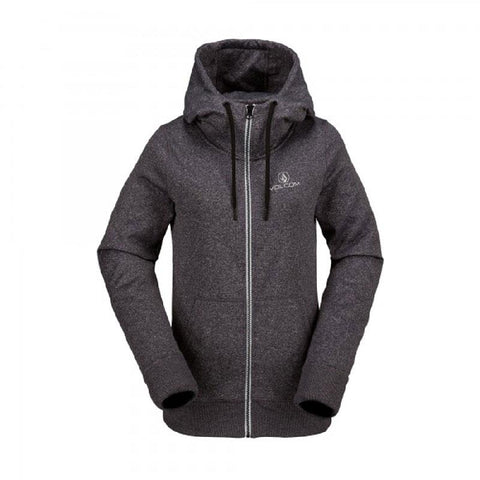 Volcom Cascara Womens Zip Up Fleece Hoodies