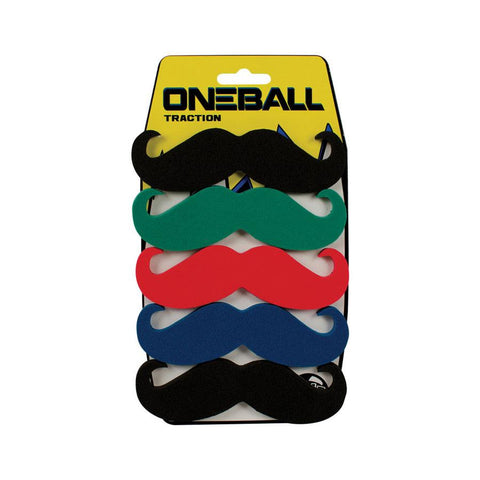 Oneball 6 Pack Mustache Stomp Pads