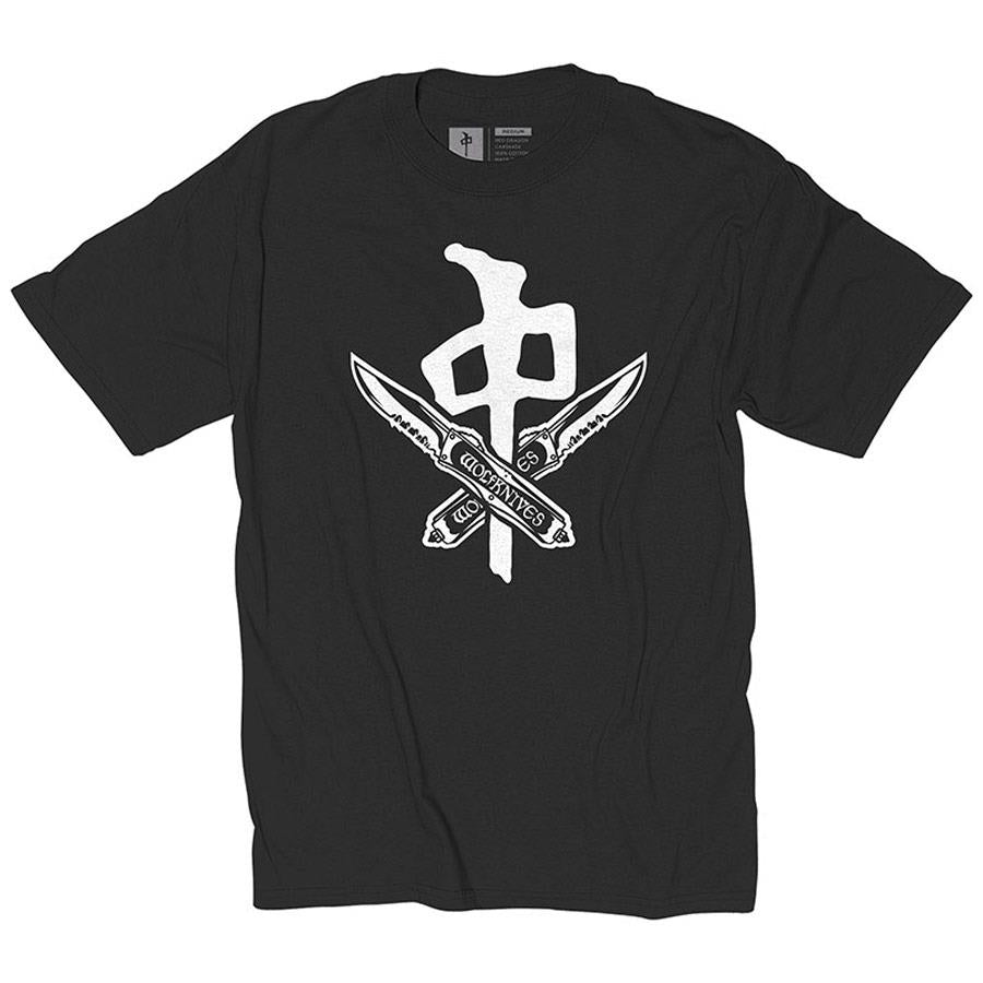 RDS X WOLFKNIVES T-SHIRT IN MENS CLOTHING S/S T-SHIRTS - MENS T-SHIRTS SHORT SLEEVE - T-SHIRTS