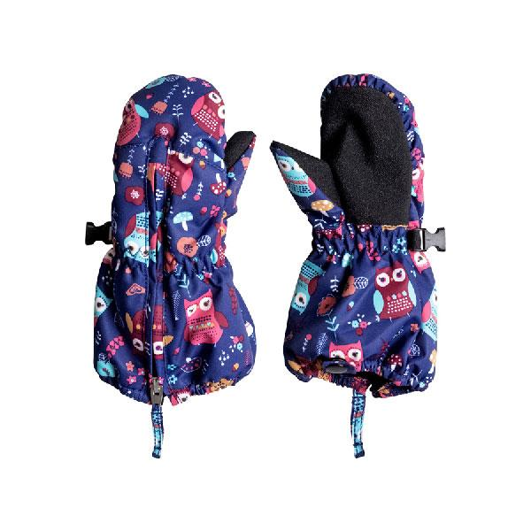 ROXY SNOWS UP MITTENS IN LIL GIRL 2-7 OUTERWEAR GIRLS MITTENS - YOUTH MITTS - GLOVES AND MITTS