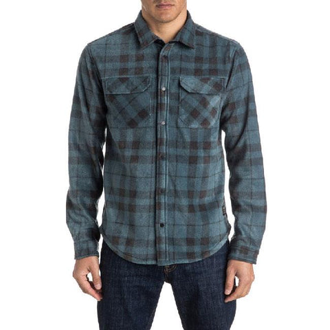 QUIKSILVER SURF DAYS POLAR SHIRT IN MENS CLOTHING L/S WOVEN - MENS BUTTON UP LONG SLEEVE SHIRTS - SHIRTS