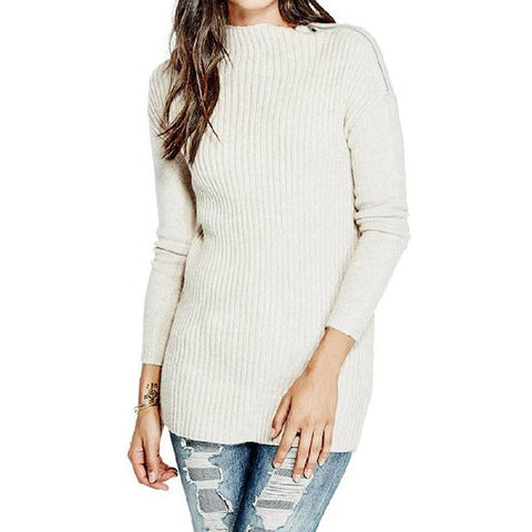 Guess LS Kathyrn Womens Zip Sweaters