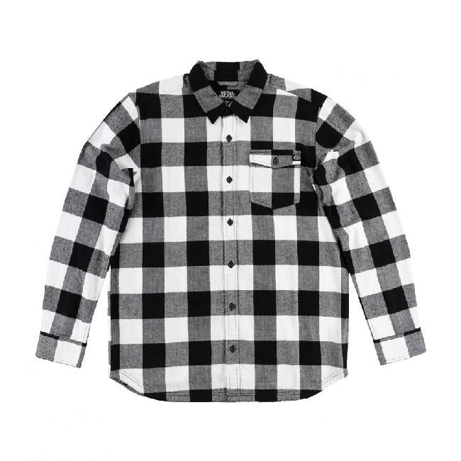 METAL MULISHA EXPLICIT FLANNEL IN MENS CLOTHING L/S WOVEN - MENS FLANNEL SHIRTS - MENS SHIRTS LONG SLEEVE SHIRTS - SHIRTS
