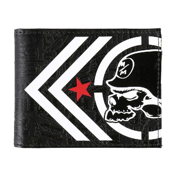 METAL MULISHA TRACED WALLET IN MENS ACCESSORIES WALLETS - MENS WALLETS - PURSES AND WALLETS