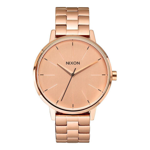 A099-897-00, All Rose Gold, Kensington, Nixon, Womens Metal Band Watch, Womens Watches, Winter 2019