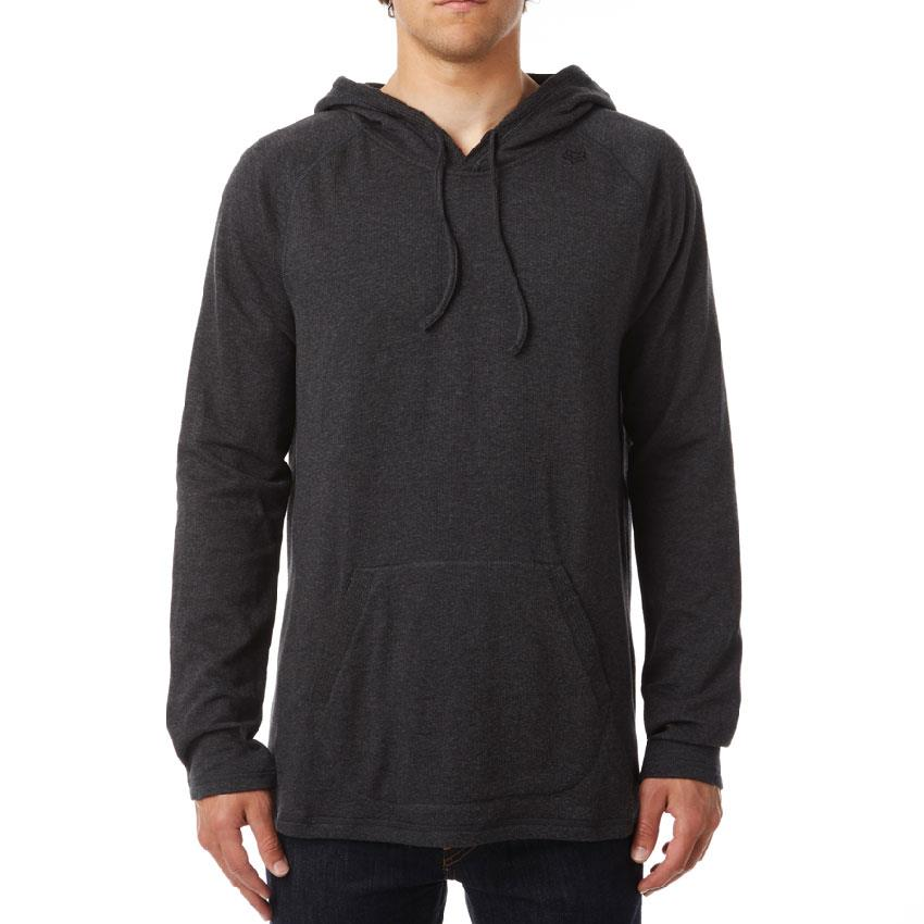 FOX PITTED LONG SLEEVE KNIT IN MENS CLOTHING HOODIES - MENS PULLOVER HOODIES - MENS SWEATSHIRTS