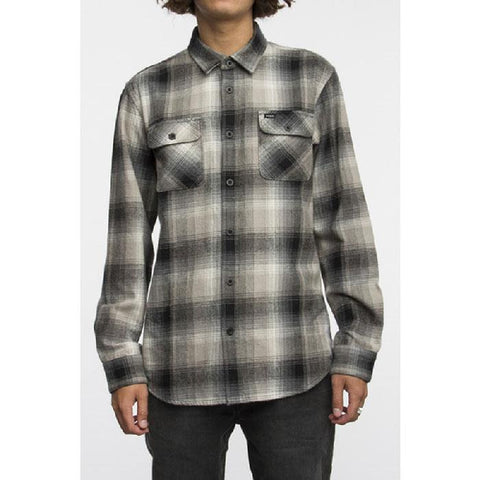 RVCA Highland II Mens Button Up LS Shirts