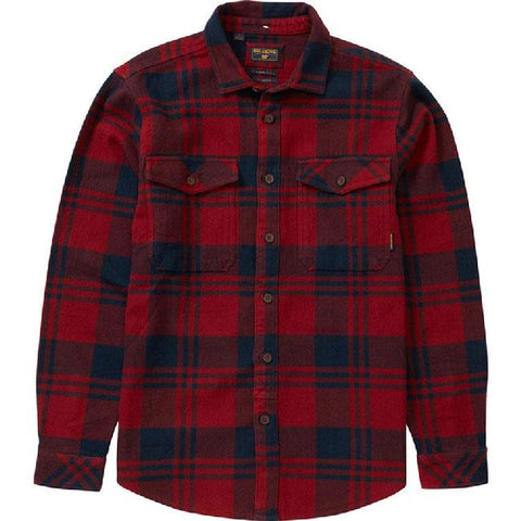 BILLABONG WILSHIRE FLANNEL IN MENS CLOTHING L/S WOVEN - MENS FLANNEL SHIRTS - MENS LONG SLEEVE SHIRTS - SHIRTS