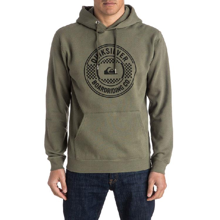 QUIKSILVER MAJOR SCREEN HOODIE IN MENS CLOTHING HOODIES - MENS PULLOVER HOODIES - MENS SWEATSHIRTS